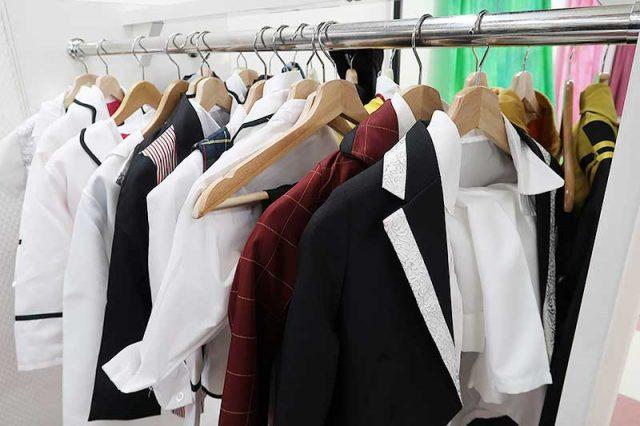 衣装の貸し出しは勿論無料