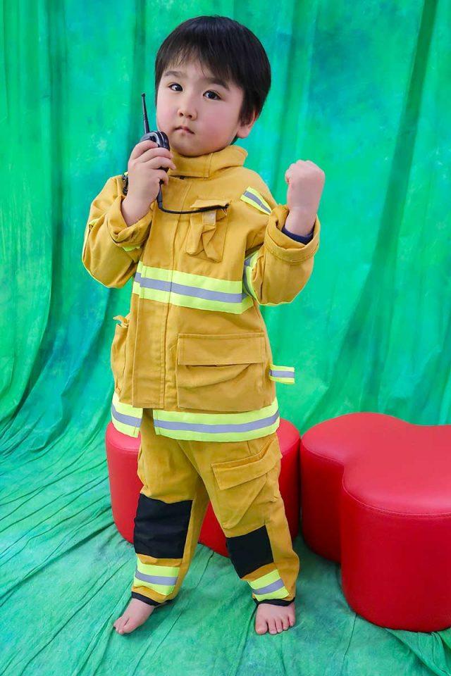 街の皆を守る消防士