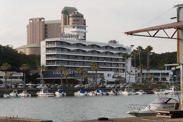 湯快リゾートプレミアム 白浜彩朝楽を通り過ぎます