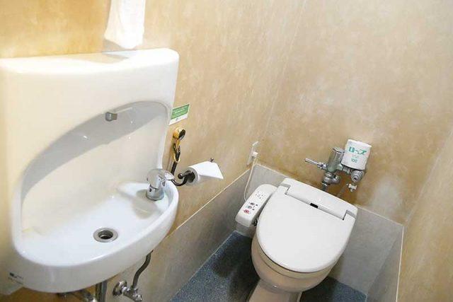 トイレはシンプル