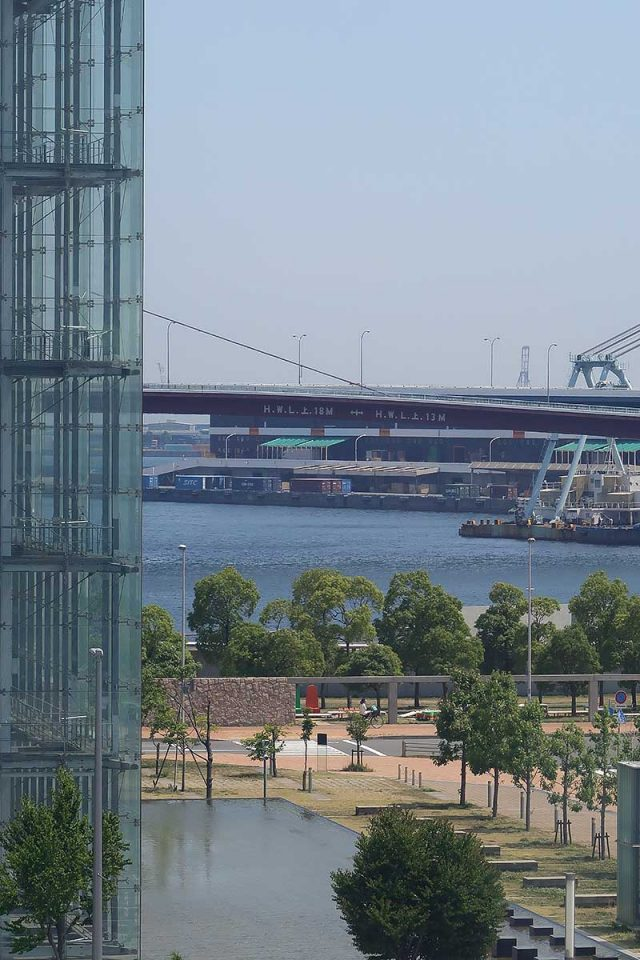 HAT神戸から眺める海!!