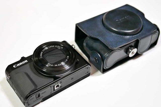 PowerShot G7 X Mark IIの純正ケース