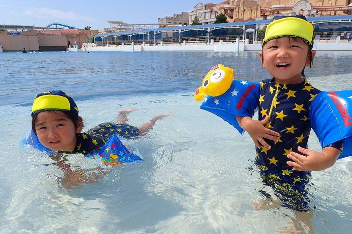 ラグナシア旅行!プールと遊園地エリアを遊び尽くす!!