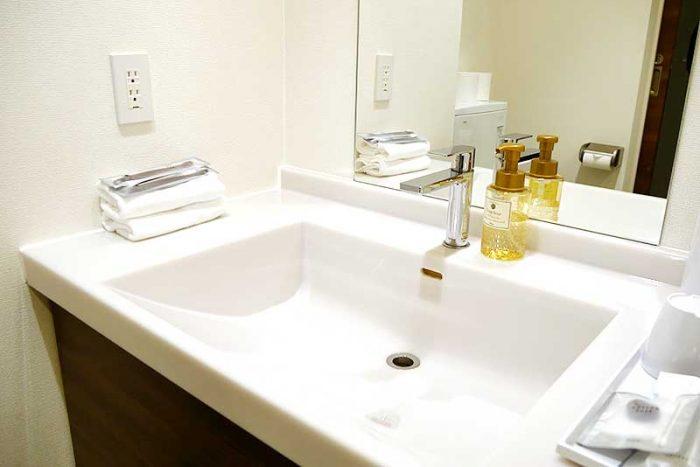 変なホテル・客室の洗面