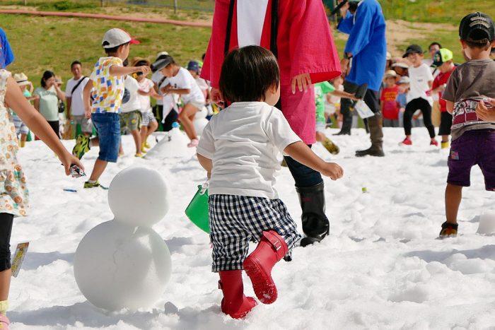 夏休みに遊べる関西お出掛けスポット!六甲山・真夏の雪まつり編!!