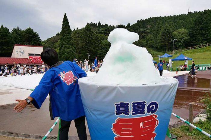 大きなカキ氷