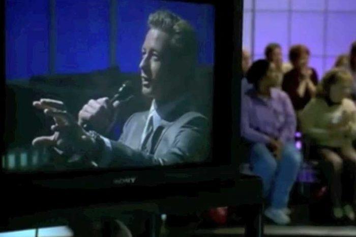 テレビに出演していたジェーン