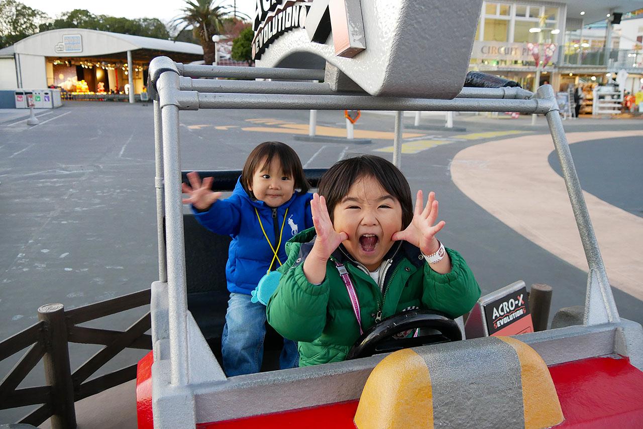 鈴鹿サーキットへ家族旅行!遊園地とイベント観戦!!