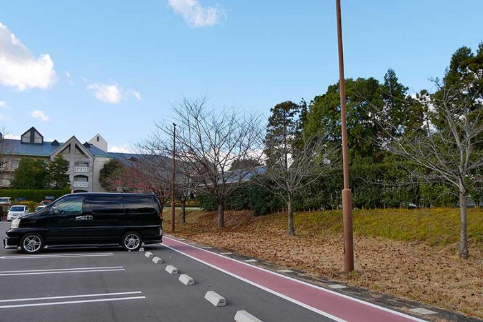 鈴鹿サーキットホテルの駐車場