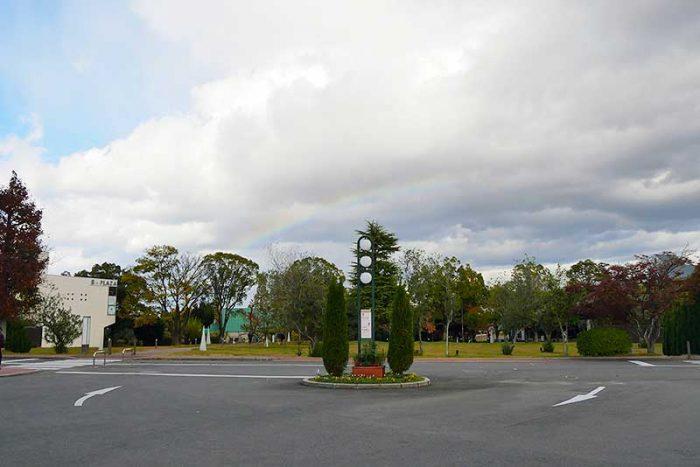 綺麗な虹が出ていました!!