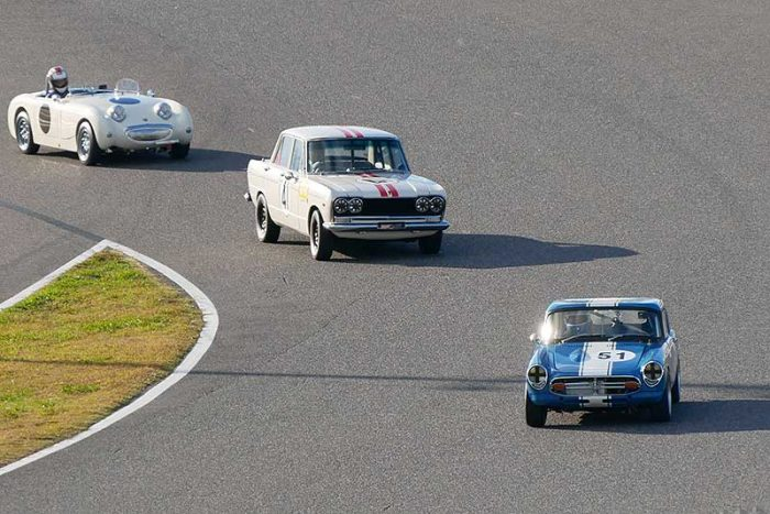60年代レーシングマシン デモンストレーション