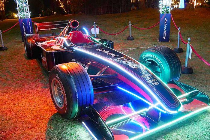 F1マシンがありました!