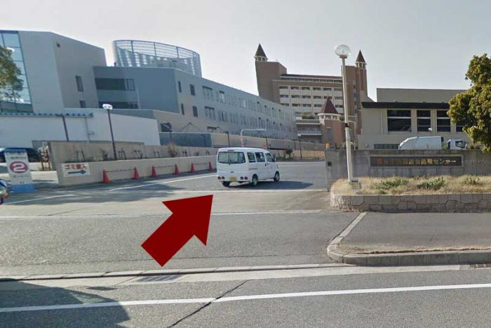 西宮市西部総合処理センターへの入り口