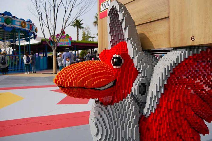レゴで作られた動物