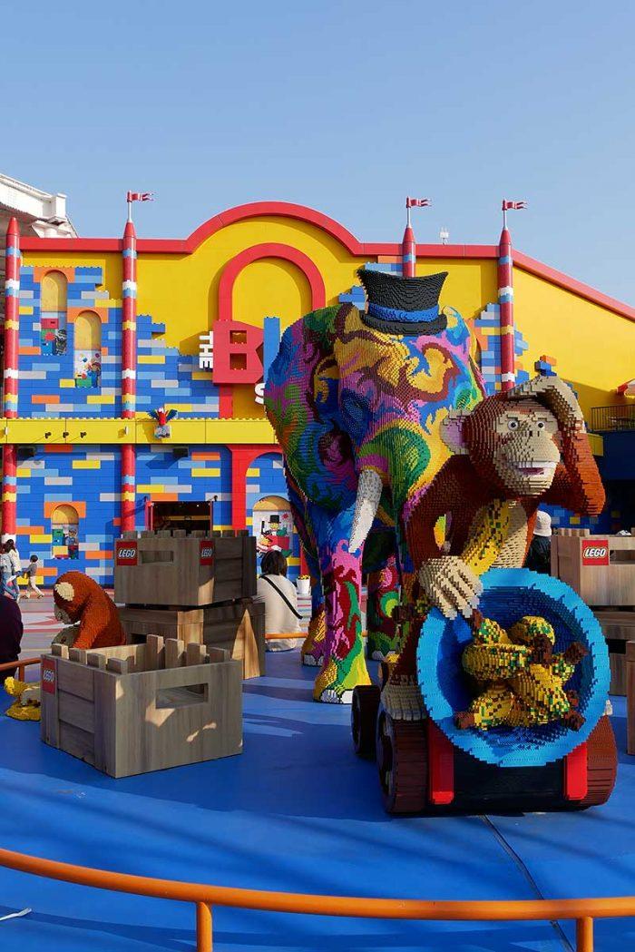 レゴで作られた動物達