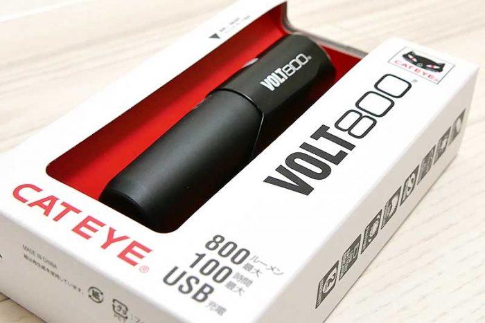 キャットアイ(CAT EYE) LEDヘッドライト VOLT800 HL-EL471RC