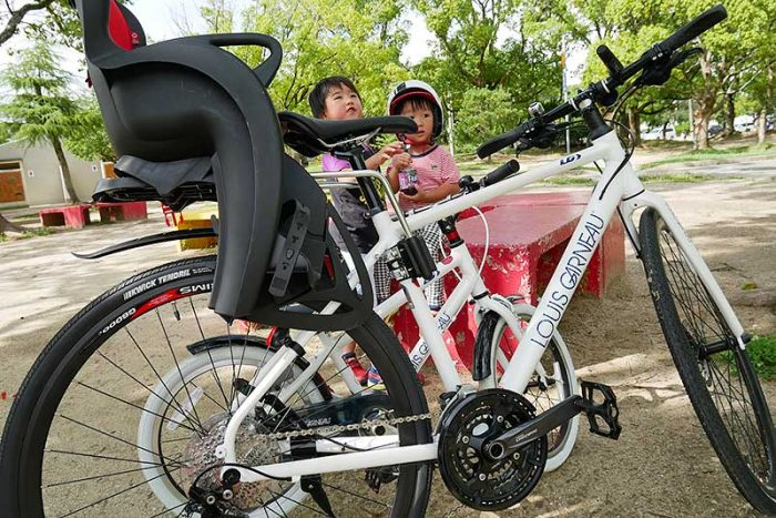 西武庫公園までサイクリング