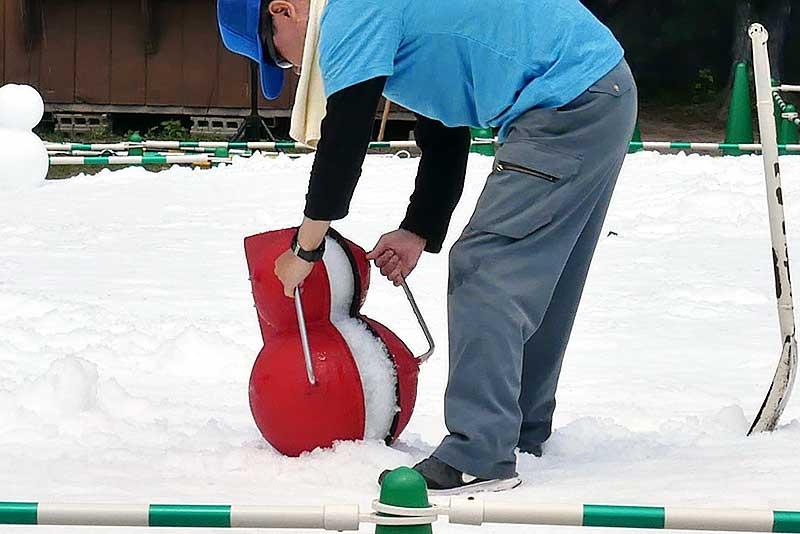 雪だるま製造機