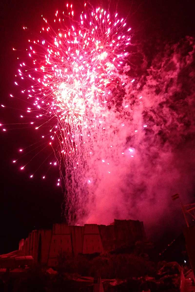 ラグナシアの花火