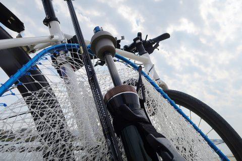 秋晴れに誘われて自転車釣行!!
