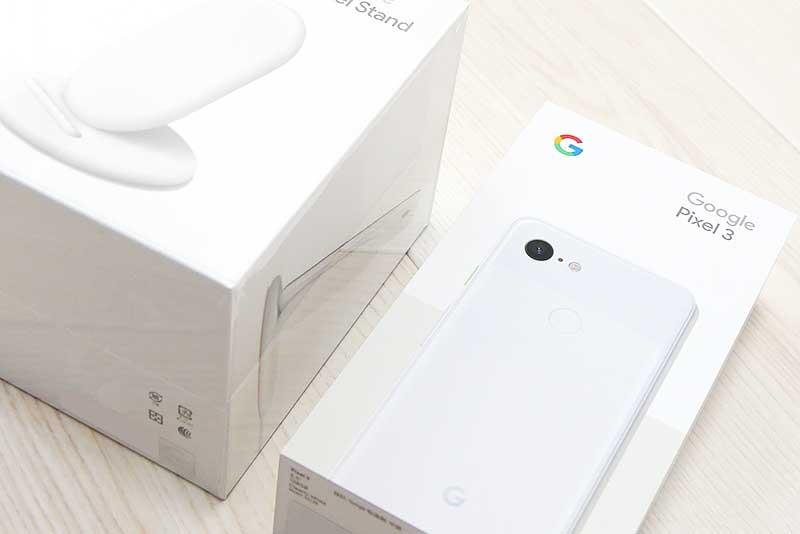 Google Pixel3と充電スタンド(Pixel Stand)を購入