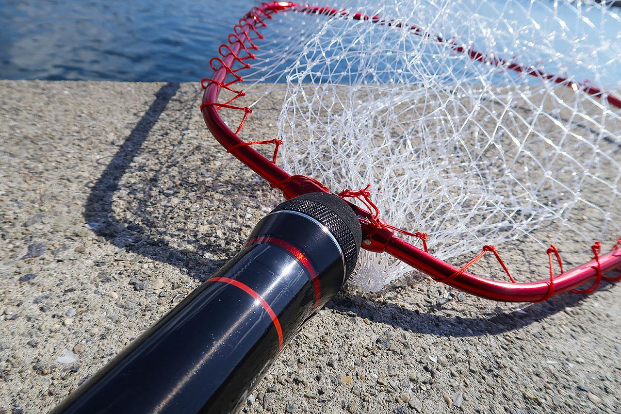 釣りにタモは必要!最適な長さと折らない使い方について
