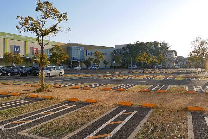 ららぽーと甲子園の駐車場
