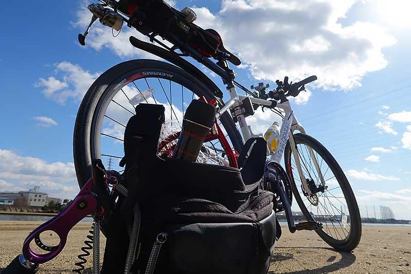 本日の自転車