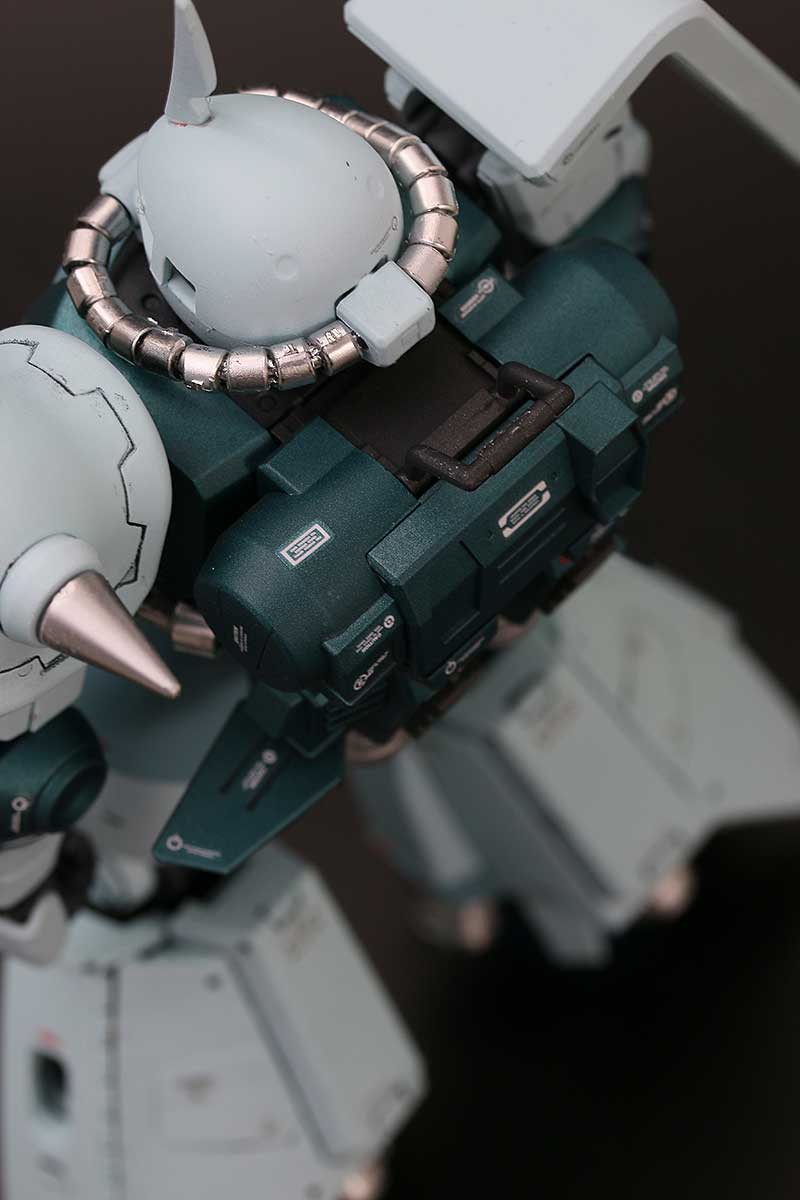 【MG】高機動型ザクII ジョニー・ライデン専用機・背中