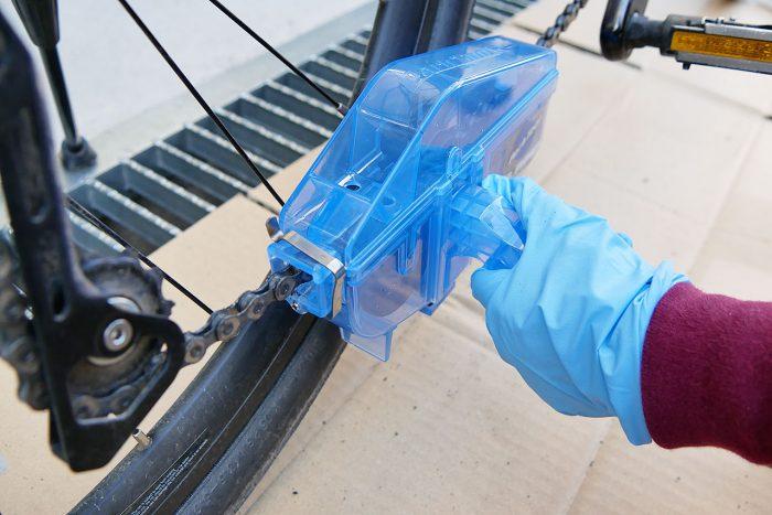 自転車のチェーンを簡単洗浄!ParkToolで油汚れも綺麗サッパリ!!