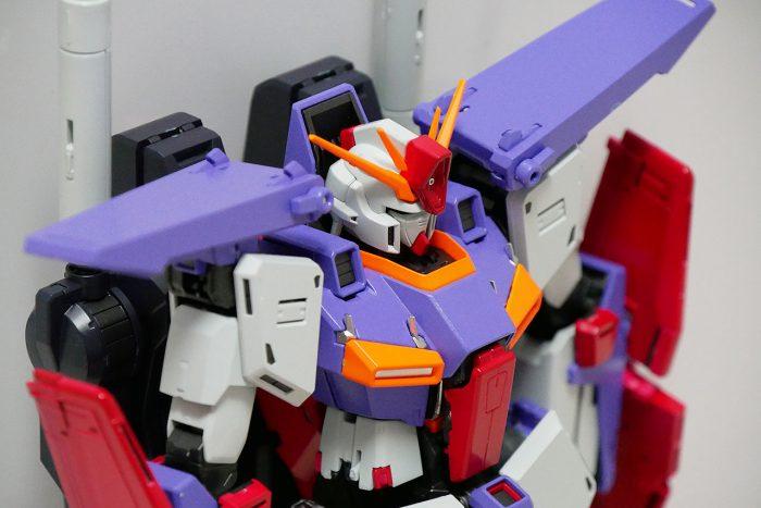 【MG】ダブルゼータガンダム Ver.Ka・制作(2)