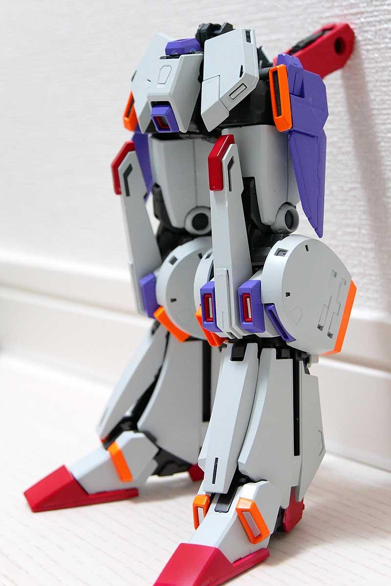 ダブルゼータガンダム Ver.Kaの脚部