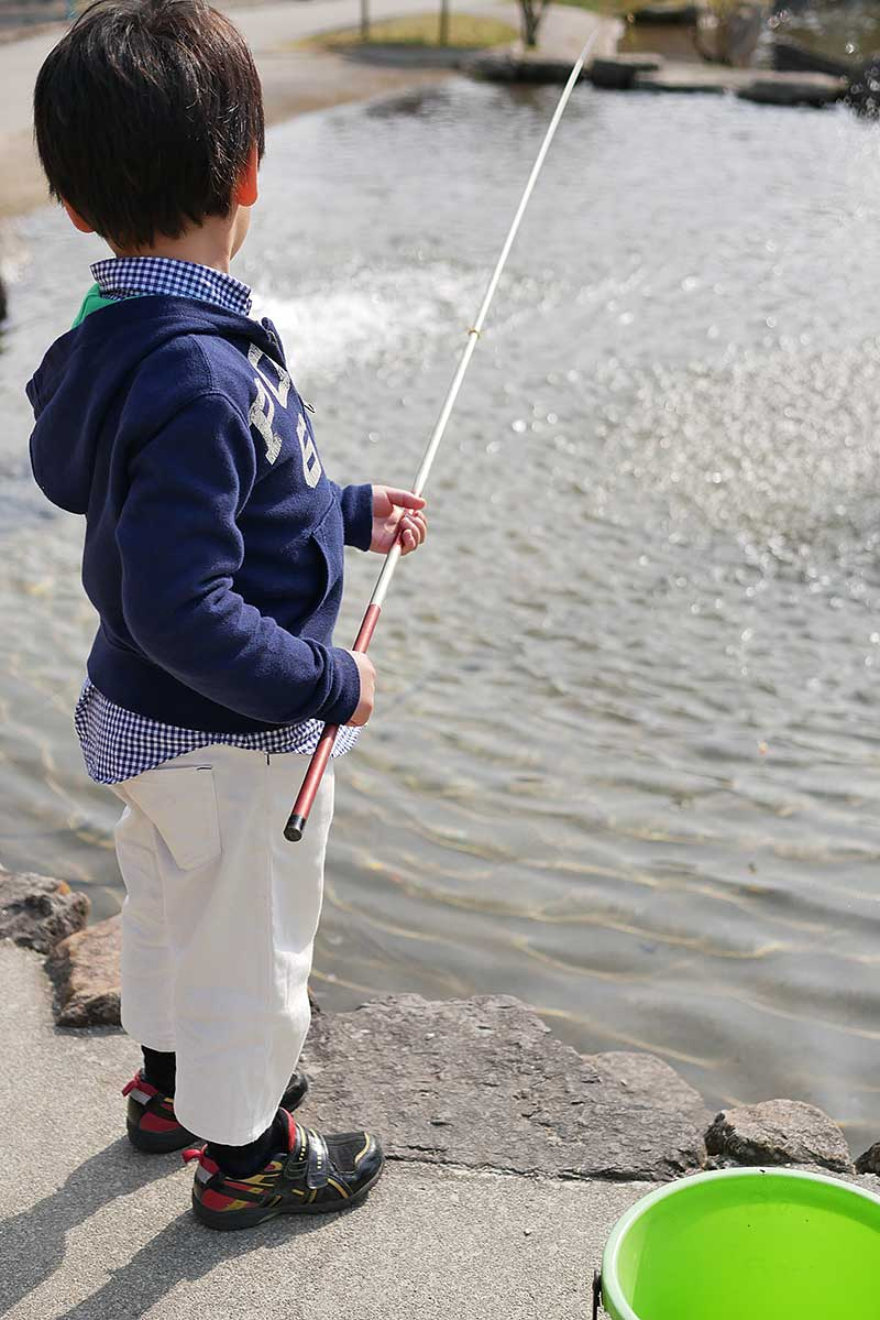 実釣開始!!