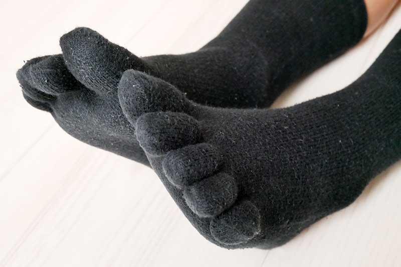 五本指の靴下