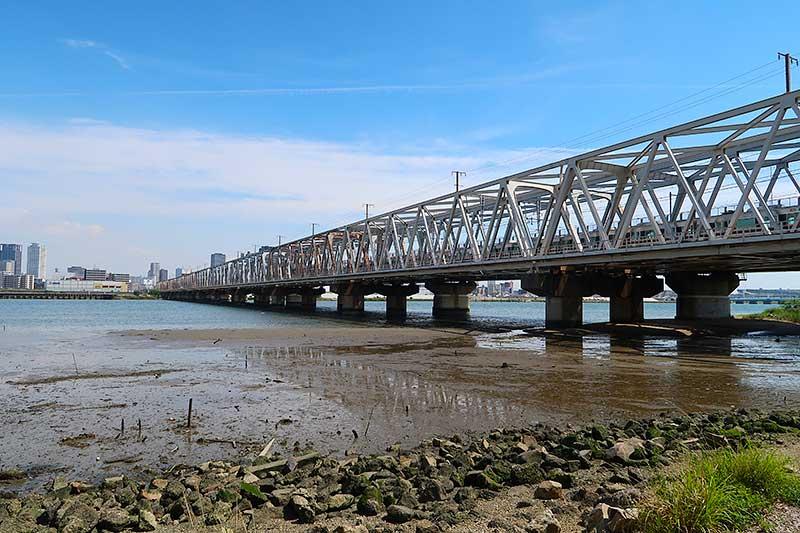 淀川JR鉄橋