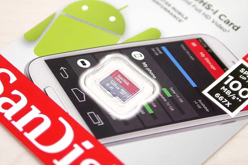 SanDisk ULTRA MicroSD / 128G