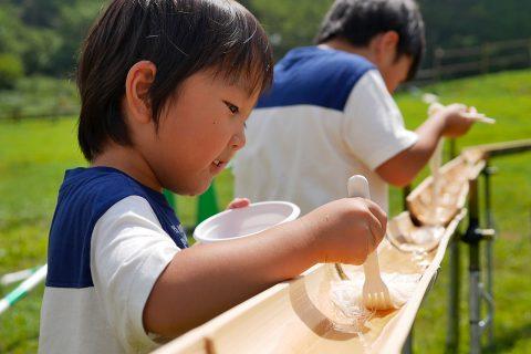 """六甲山・夏のイベント""""流し素麺""""と""""雪の宝探し""""が面白い!!"""