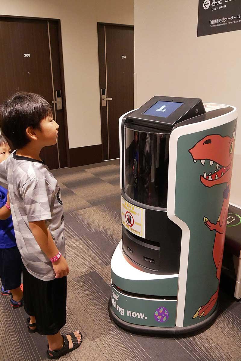 ルームサービスのロボット