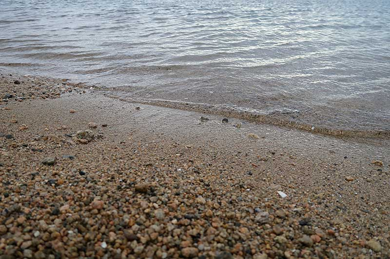 大荒れの浜