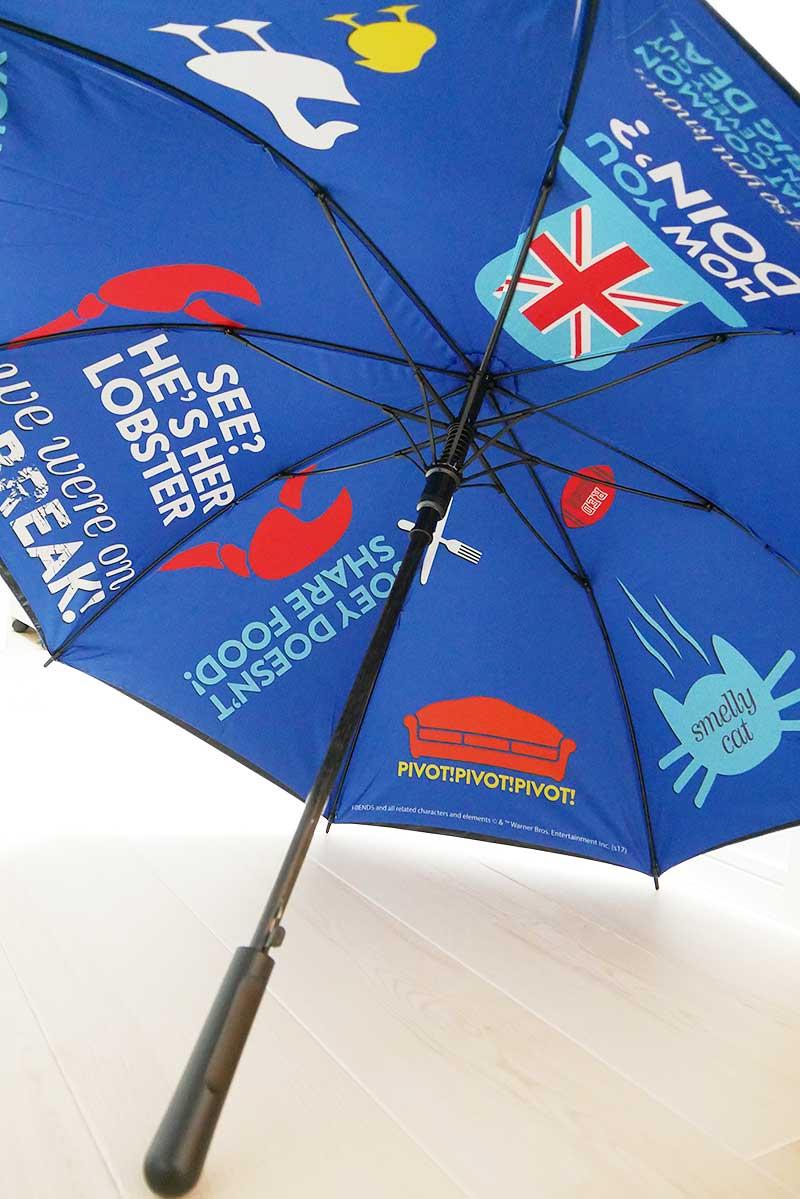 しっかりした傘です