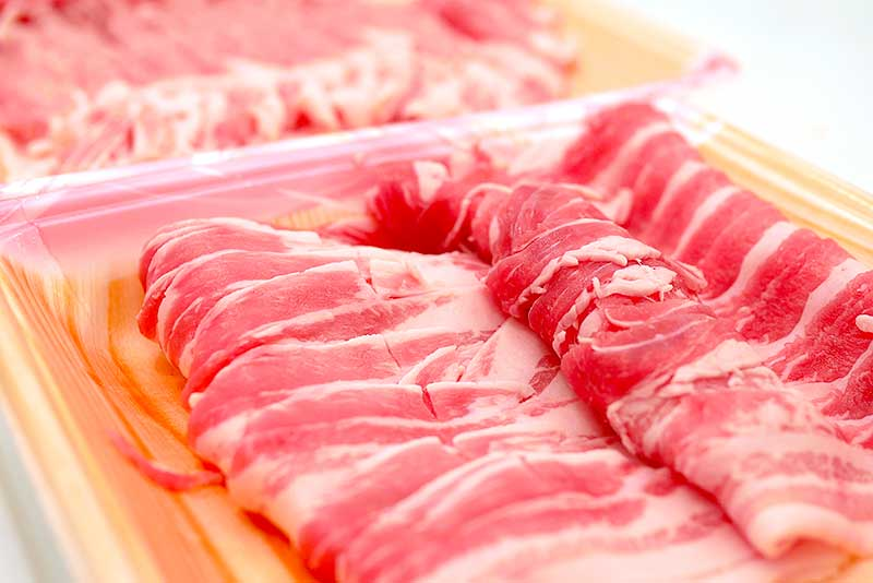 薄切りの豚バラ・豚ロース