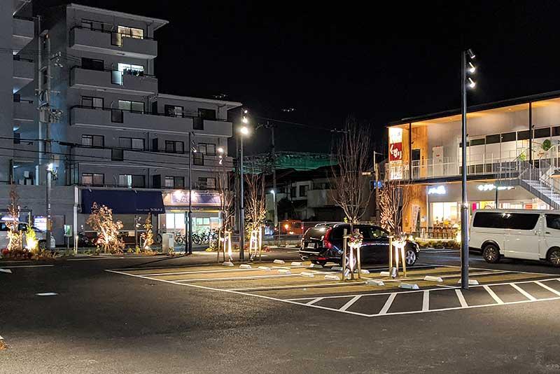 甲子園口グリーンプレイスの駐車スペース