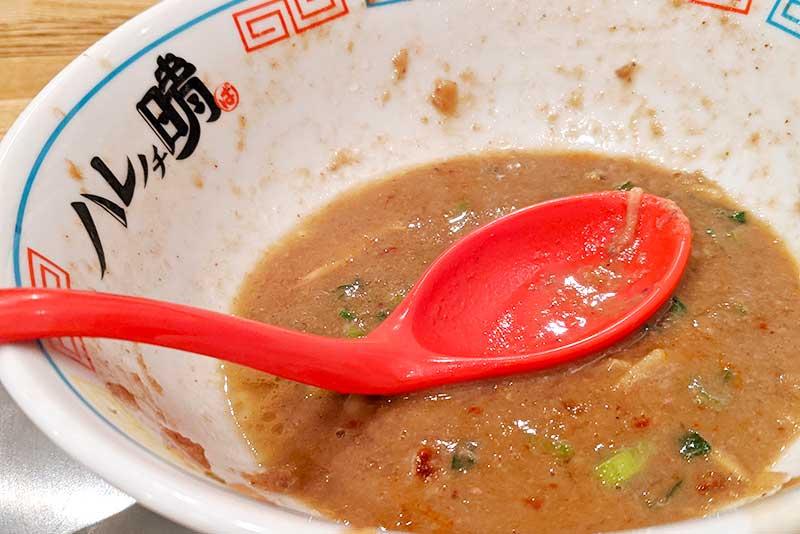 濃厚スープでした