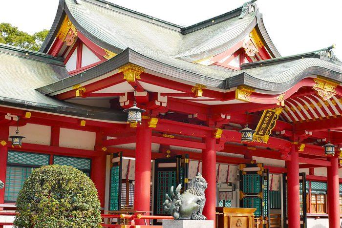 えべっさん(西宮神社)への参拝と駐輪場の場所を解説!
