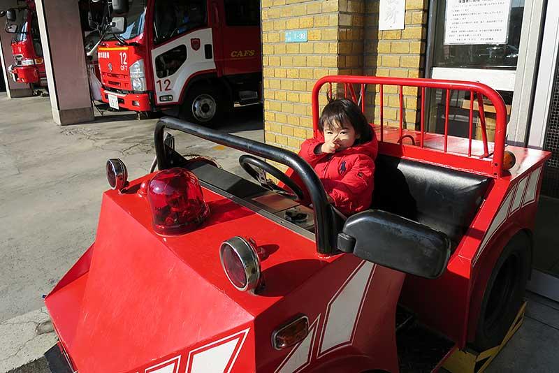 小さな消防車