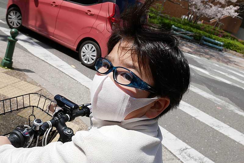 自転車で街を散策