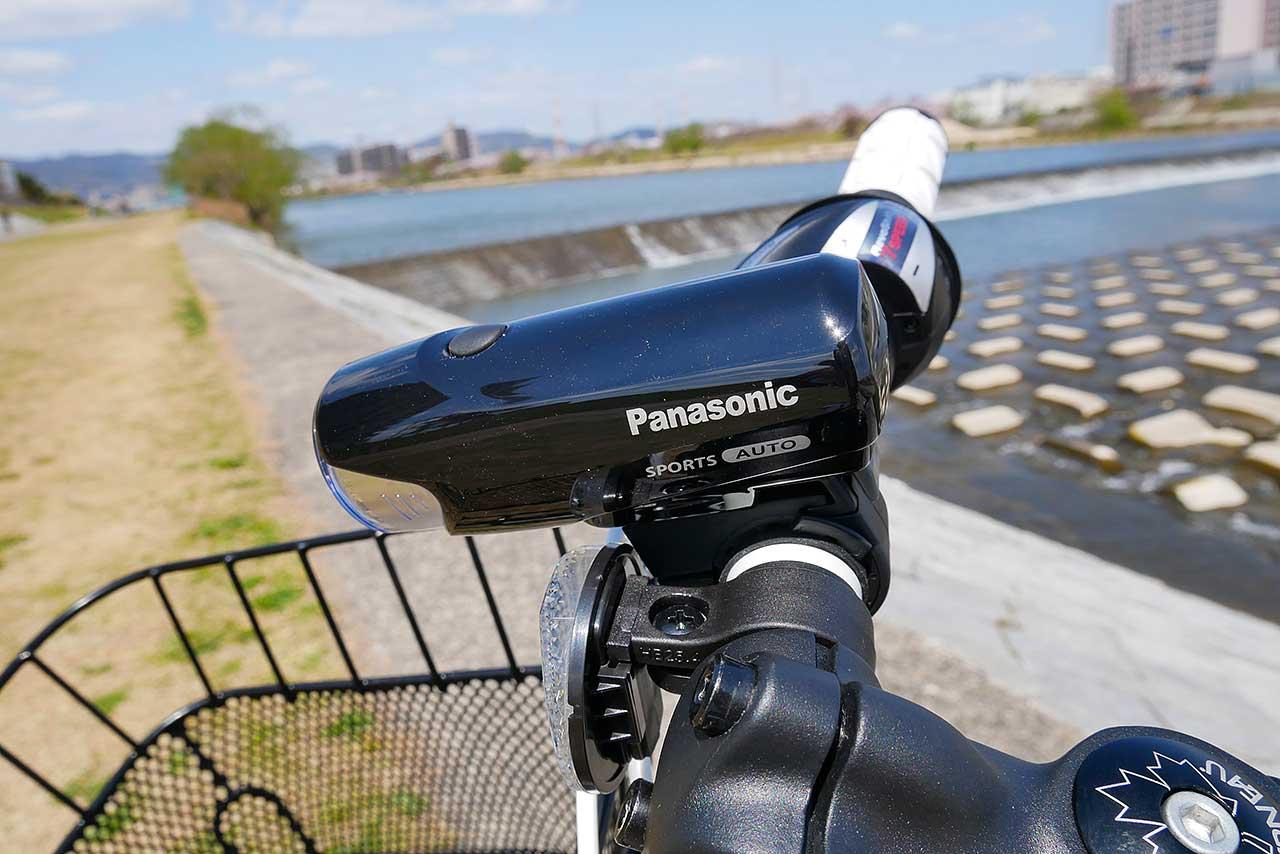 自転車のライトは自動点灯LEDタイプがオススメ!