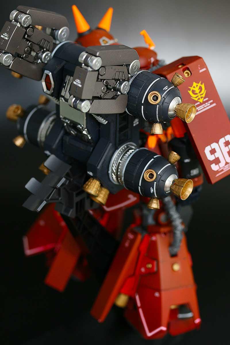 サイコ・ザク Ver.Ka・バックパック装備・背面右側