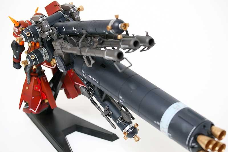 サイコ・ザク Ver.Ka・プロペラントタンク装備・背面上から