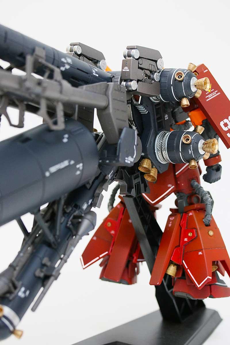 サイコ・ザク Ver.Ka・プロペラントタンク装備・背面右側